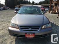 Make Honda Model Accord Year 2001 Colour Grey kms