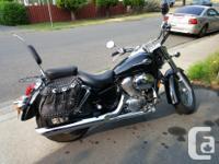 Selling my Honda Shadow 750cc ACE with custom studded