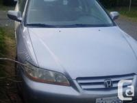 Make Honda Model Accord Year 2001 Colour silver kms