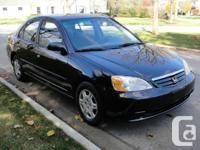 Marketing my 2001 HONDA CIVIC LX. Automobile has