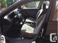 Make Honda Model Civic Year 2001 Colour Black kms