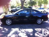 Selling my very reliable 2001 Civic SI-G.  Original