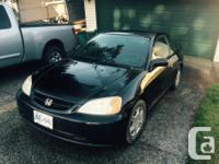Make Honda Colour Black Trans Manual kms 347574 2001