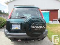 Make Honda Model CR-V Year 2001 2001 Honda CR-V, 4WD,