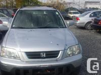 Make Honda Model CR-V Year 2001 Colour silver nu kms