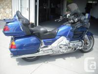 Make Honda Model Goldwing Year 2001 kms 127500 2001
