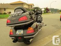2001 Goldwing 1800. An excellent motorcycle in