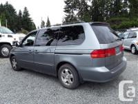 Make Honda Model Odyssey Year 2001 Colour Grey kms