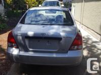 Make Hyundai Model Elantra Year 2001 Colour Silver kms
