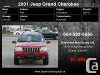 Check out our website for more pics  2001 Jeep Grand