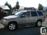 Make Jeep Model Grand Cherokee Year 2001 Colour Grey