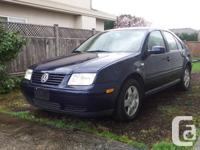 2001 jetta , 2.0 l 4 cyl good condition , call for more