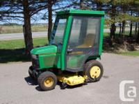 John Deere cab to fit 425, 445 and 455 john deere lawn