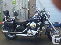 Make Kawasaki Model Vulcan Year 2001 2001 800cc