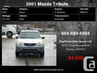 Check out our website for more pics  2001 Mazda Tribute