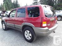 Make Mazda Model Tribute Year 2001 Colour Red kms