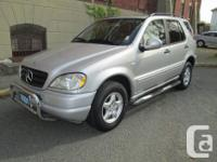Make Mercedes-Benz Model ML320 Year 2001 Colour Silver