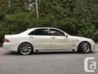 Make Mercedes-Benz Model S500 Year 2001 Colour White for sale  British Columbia