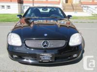 Make Mercedes-Benz Model SLK230 Year 2001 Colour Black