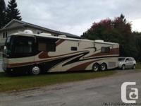 2001 Monaco Dynasty 40Ft Class-A Motorhome. Includes