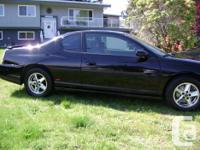 Make Chevrolet Year 2001 Colour Black 2001 Monte Carlo