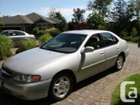 Make Nissan Model Altima Year 2001 Colour Silver kms