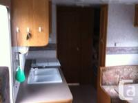 """2001 Nomad Travel Trailer, 24.5"""" with rear bunk beds &"""