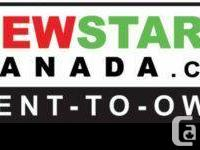 NEWSTART CANADA OFFERS  RENT-TO-OWN VEHICLES  FROM $49