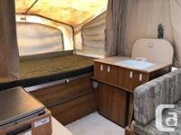 2001 Palomino lite Weight Tent Trailer, 1295 lbs. A