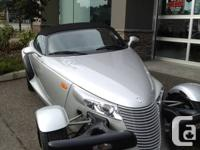 The 2001 Plymouth Prowler is a modern classic made for