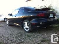 Make Pontiac Model Sunfire Year 2001 Colour Black kms