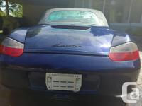Make Porsche Model Boxster Year 2001 Colour Blue kms