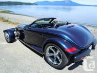 Make Chrysler Model Prowler Year 2001 Colour Blue kms
