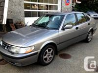 2001 Saab 9 3 turbo,automatic ,traction control, sports