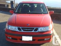 Make Saab Model 9-5 Year 2001 Colour Red kms 180000