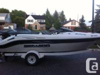 2001 seadoo challenger 1800 series for sale 240 hp merc