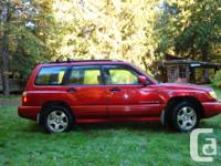 Make Subaru Model Forester Year 2001 Colour Cranberry