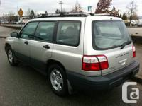 subaru forester grey only 164000 km, automatic