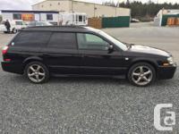 Make Subaru Model Legacy Wagon Year 2001 Colour Black
