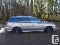 Make Subaru Model Legacy Year 2001 Colour Brown kms