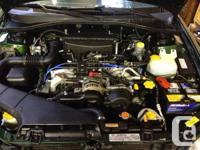 2001 Subaru Legacy Wagon, automatic, AWD with 262,000