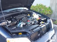 Make Subaru Model Legacy Wagon Year 2001 Colour Blue
