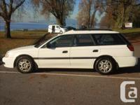 Make. Subaru. Design. Tradition Wagon. Year. 2001.