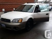 For sale is a 2001 Subaru Outback 2.5L:  - Clean,