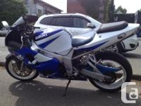 This fun, fast GSXR is in amazing condition Custom Turn