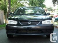 I m selling my corolla 2001 .the car is in great shape