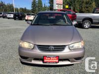 Make Toyota Model Corolla Year 2001 Colour Brown kms