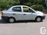 Make Toyota Model Echo Year 2001 Colour SILVER kms