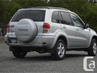Make Toyota Model RAV4 Year 2001 kms 307000 Trans