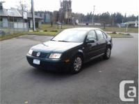 Make Volkswagen Model Jetta Year 2001 Colour Green kms